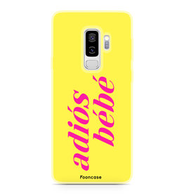 FOONCASE Samsung Galaxy S9 Plus - Adiós Bébé ☀
