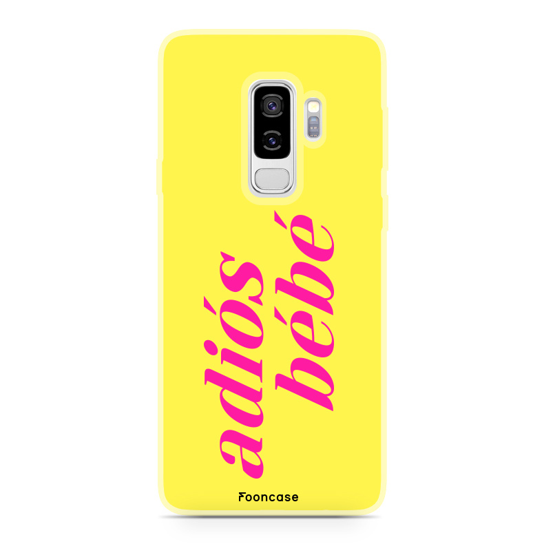 FOONCASE Samsung Galaxy S9 Plus Handyhülle - Adiós Bébé ☀