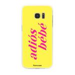 FOONCASE Samsung Galaxy S7 Edge - Adiós Bébé ☀