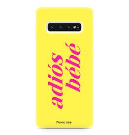 FOONCASE Samsung Galaxy S10 - Adiós Bébé ☀