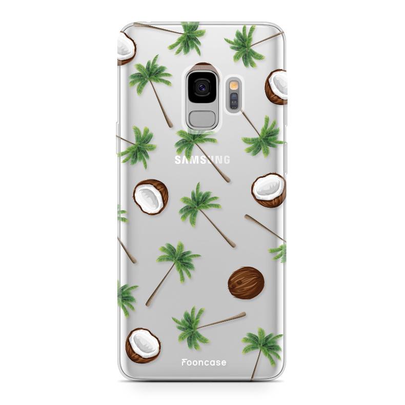 FOONCASE Samsung Galaxy S9 Handyhülle - Coco Paradise
