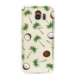 FOONCASE Samsung Galaxy S7 Edge - Coco Paradise