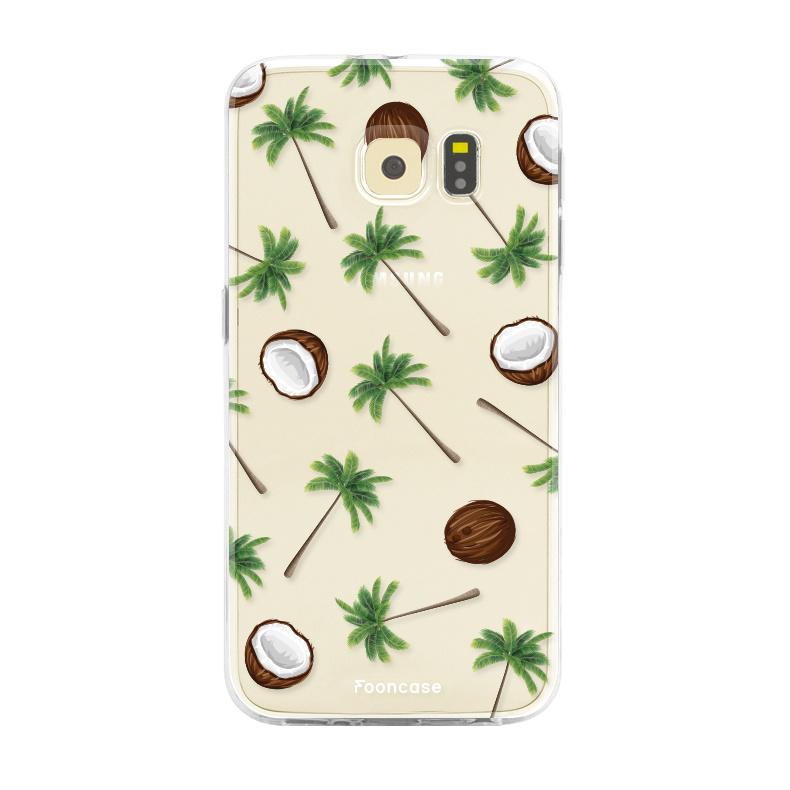 FOONCASE Samsung Galaxy S6 Edge Handyhülle - Coco Paradise
