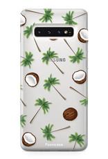 FOONCASE Samsung Galaxy S10 Handyhülle - Coco Paradise