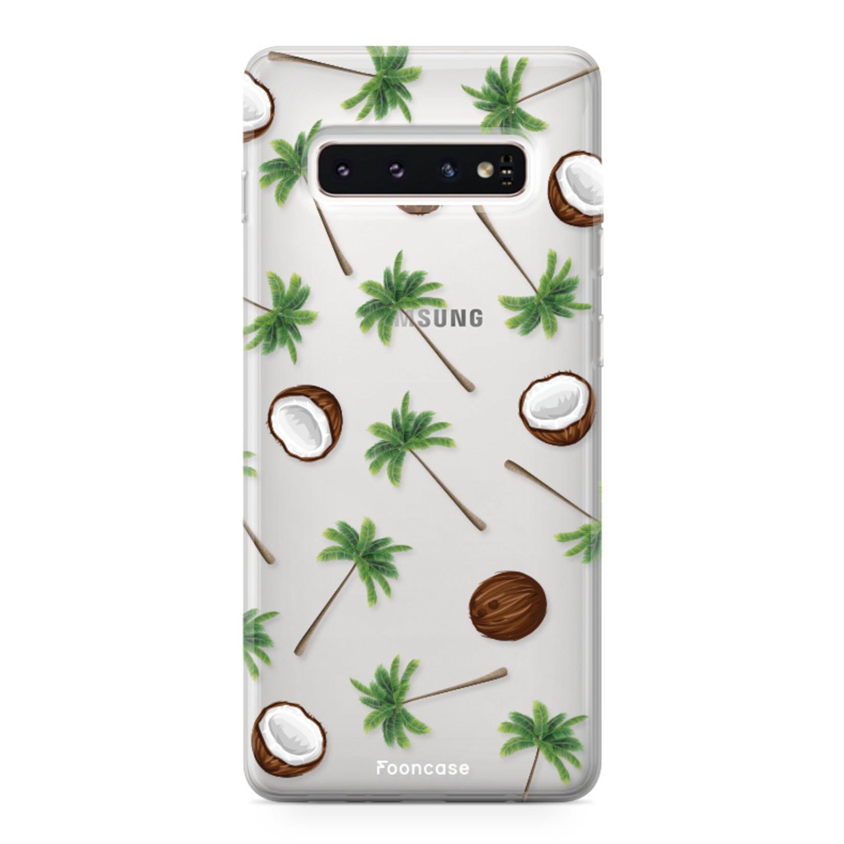 FOONCASE Samsung Galaxy S10 Plus Handyhülle - Coco Paradise