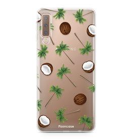 FOONCASE Samsung Galaxy A7 2018 - Coco Paradise