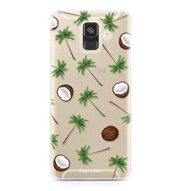 FOONCASE Samsung Galaxy A6 2018 - Coco Paradise
