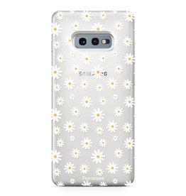 FOONCASE Samsung Galaxy S10e - Daisies