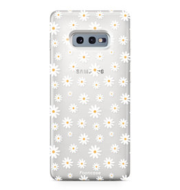 FOONCASE Samsung Galaxy S10e - Madeliefjes