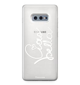 FOONCASE Samsung Galaxy S10e - Ciao Bella!