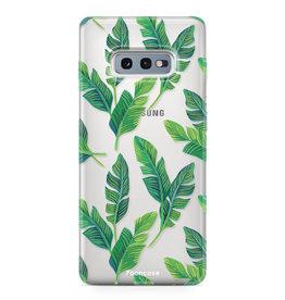 FOONCASE Samsung Galaxy S10e - Bananenblätter