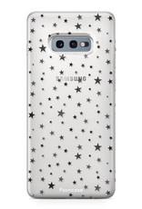 FOONCASE Samsung Galaxy S10e hoesje TPU Soft Case - Back Cover - Stars / Sterretjes