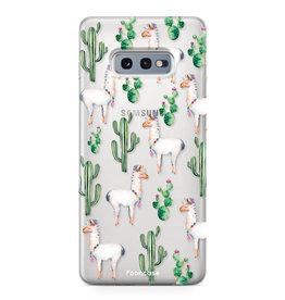 FOONCASE Samsung Galaxy S10e - Alpaca