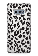 FOONCASE Samsung Galaxy S10e hoesje TPU Soft Case - Back Cover - Luipaard / Leopard print