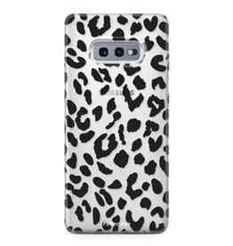 FOONCASE Samsung Galaxy S10e - Luipaard print