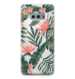 FOONCASE Samsung Galaxy S10e - Tropical Desire