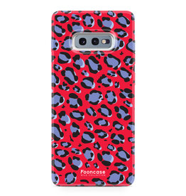 FOONCASE Samsung Galaxy S10e - WILD COLLECTION / Rood