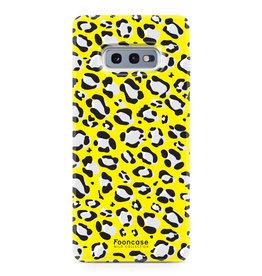 FOONCASE Samsung Galaxy S10e - WILD COLLECTION / Geel