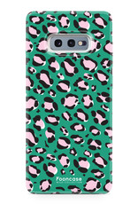 FOONCASE Samsung Galaxy S10e - WILD COLLECTION / Grün