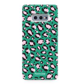 FOONCASE Samsung Galaxy S10e - WILD COLLECTION / Groen