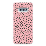 FOONCASE Samsung Galaxy S10e - POLKA COLLECTION / Pink
