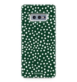 Samsung Samsung Galaxy S10e - POLKA COLLECTION / Dunkelgrün