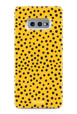 Samsung Samsung Galaxy S10e - POLKA COLLECTION / Oker Geel
