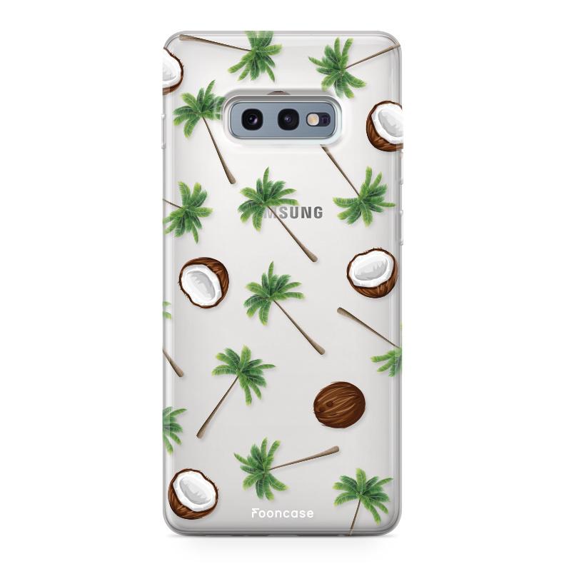FOONCASE Samsung Galaxy S10e Handyhülle - Coco Paradise
