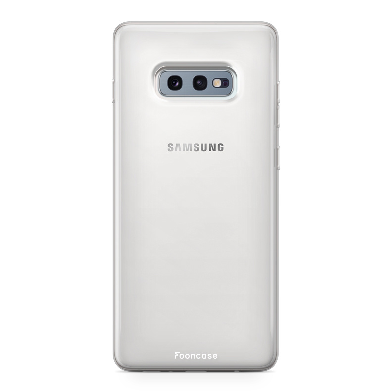 FOONCASE Samsung Galaxy S10e Handyhülle - Transparant