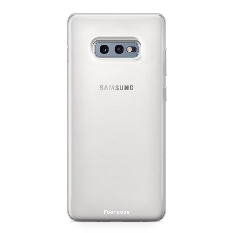 Samsung Samsung Galaxy S10e hoesje - Transparant