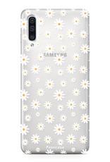 Samsung Samsung Galaxy A50 hoesje - Madeliefjes