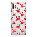 FOONCASE Samsung Galaxy A50 - Crabs