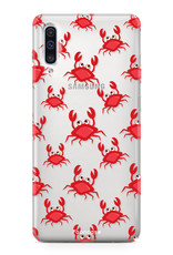 FOONCASE Samsung Galaxy A50 Handyhülle - Krabben