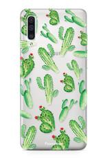 Samsung Samsung Galaxy A50 hoesje - Cactus
