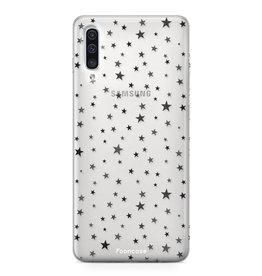 FOONCASE Samsung Galaxy A50 - Sterne