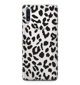 FOONCASE Samsung Galaxy A50 - Luipaard print