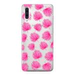 FOONCASE Samsung Galaxy A50 - Pink leaves