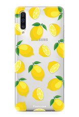 FOONCASE Samsung Galaxy A50 Handyhülle - Lemons