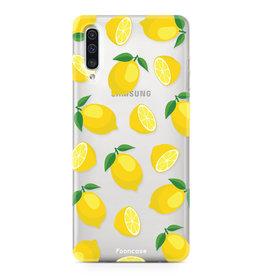 FOONCASE Samsung Galaxy A50 - Lemons