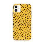 FOONCASE Iphone 11 - POLKA COLLECTION / Oker Geel