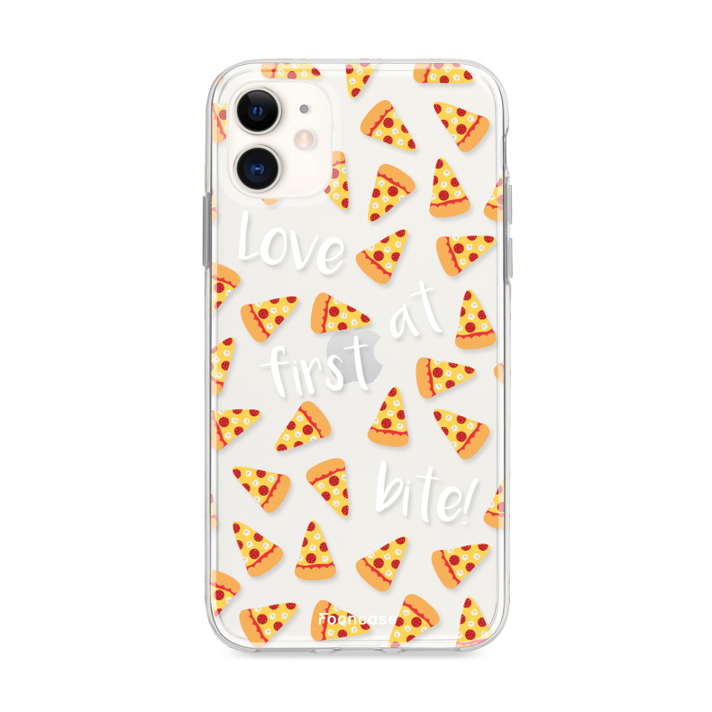 FOONCASE iPhone 11 hoesje TPU Soft Case - Back Cover - Pizza / Food