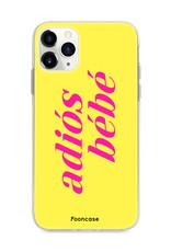 FOONCASE IPhone 11 Pro Max Handyhülle - Adiós Bébé ☀
