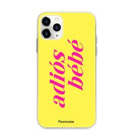 FOONCASE IPhone 11 Pro Max - Adiós Bébé ☀