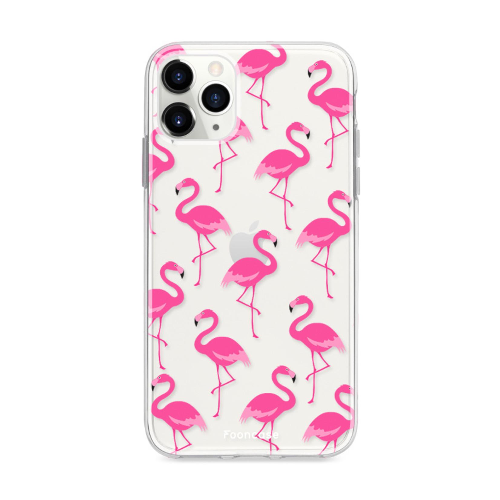 FOONCASE IPhone 11 Pro Max Handyhülle - Flamingo