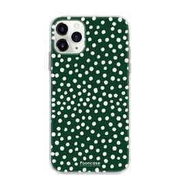 FOONCASE IPhone 11 Pro Max - POLKA COLLECTION / Verde scuro