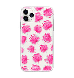 FOONCASE IPhone 11 Pro Max - Pink leaves