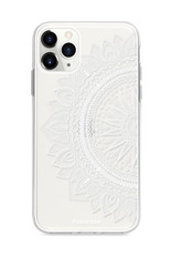 FOONCASE iPhone 11 Pro Max hoesje TPU Soft Case - Back Cover - Mandala / Ibiza