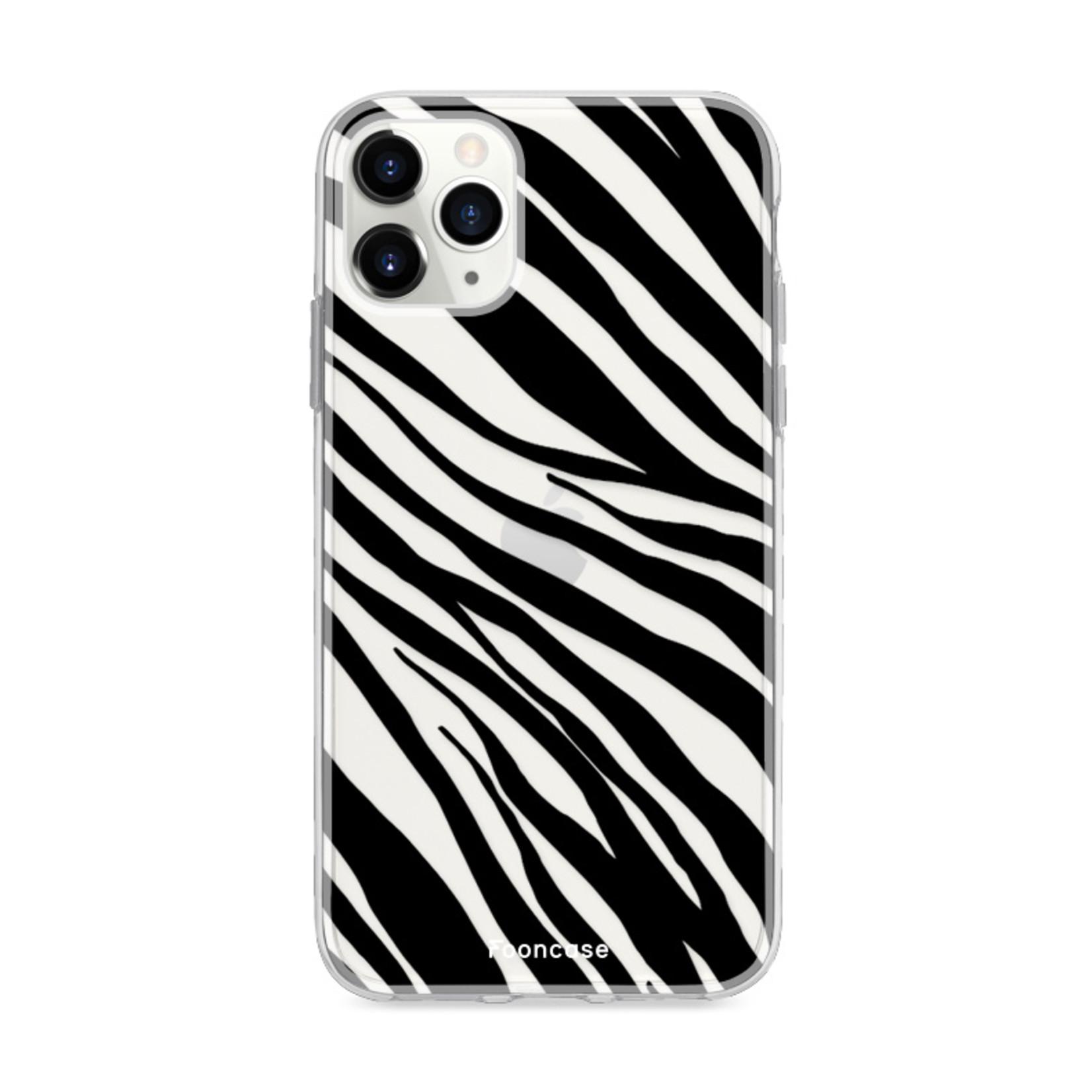 FOONCASE IPhone 11 Pro Max Handyhülle - Zebra