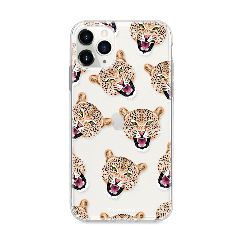 FOONCASE IPhone 11 Pro Max Handyhülle - Cheeky Leopard