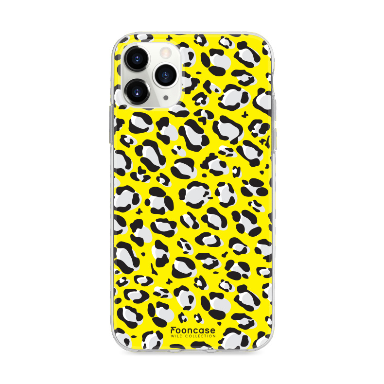 FOONCASE IPhone 11 Pro- WILD COLLECTION / Gelb
